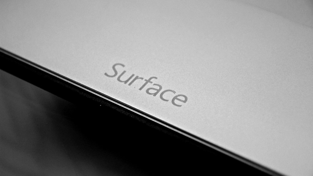 Microsoft Surface Header