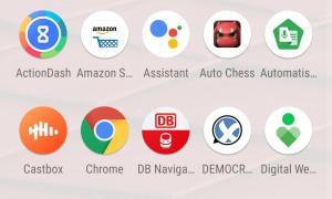 Motorola One Vision Appdrawer