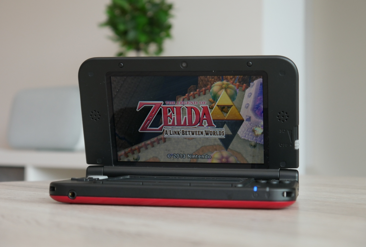 Nintendo 3ds Zelda Header