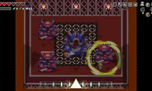 Nintendo Switch Zelda Crossover Screen1
