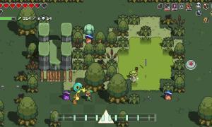 Nintendo Switch Zelda Crossover Screen2