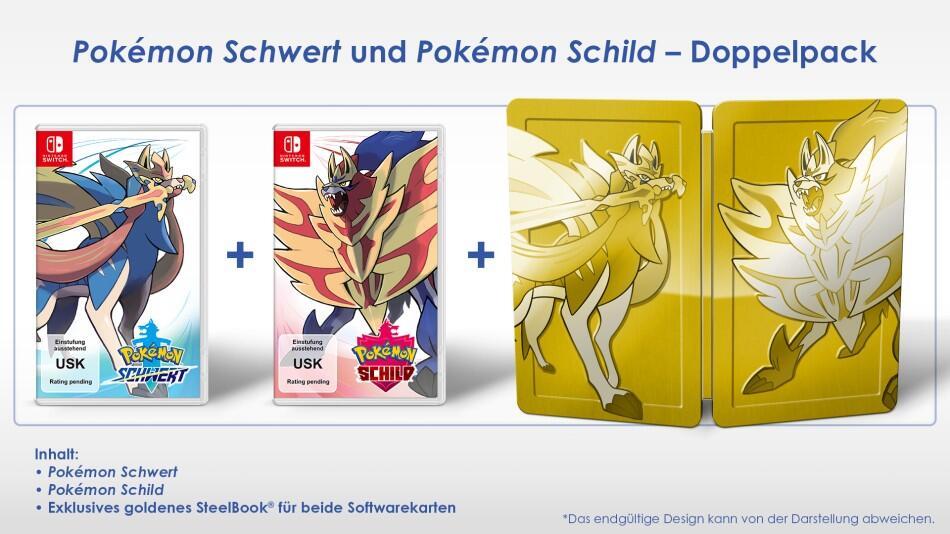 Pokemon Schert Schild Bookart
