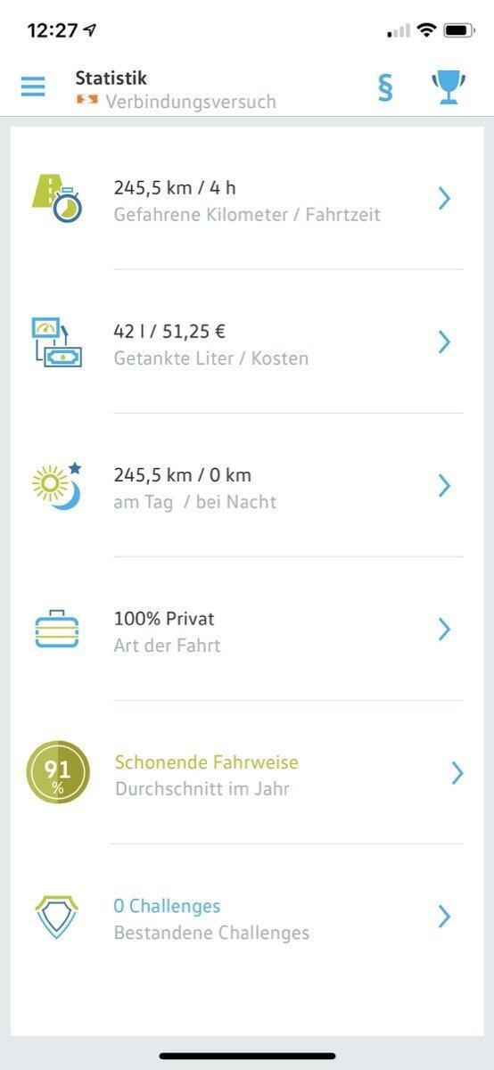 Volkswagen Connect App 5
