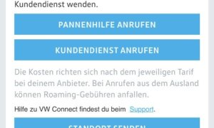 Volkswagen Connect App 9