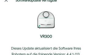 Vorwerk Kobold Vr 300 Update
