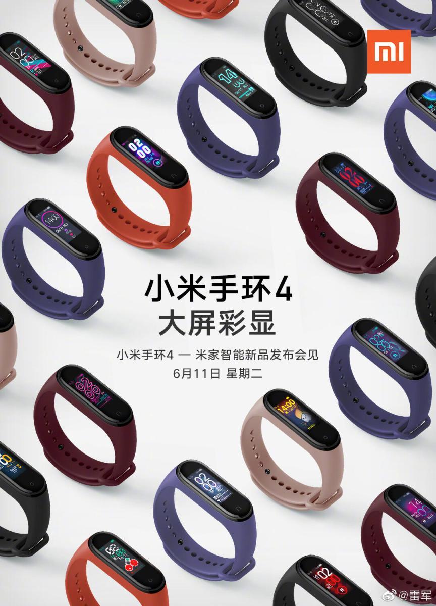 Xiaomi Mi Band 4 Auswahl