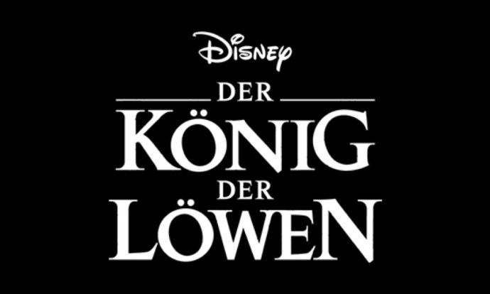 Disney Lion King Koenig Loewen Logo