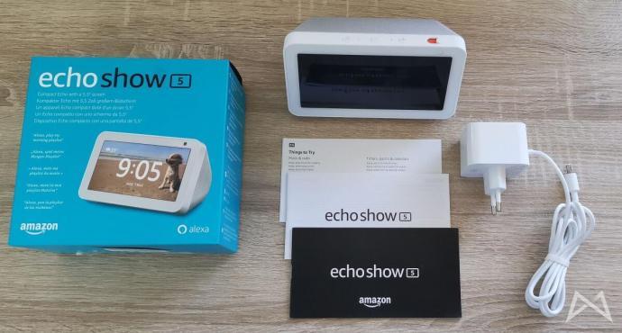Echo Show 5 Lieferumfang