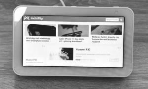 Echo Show 5 Mobiflip Browser Firefox