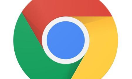 Google Chrome Logo Header