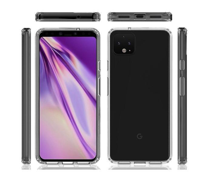 Google Pixel 4 Case Render