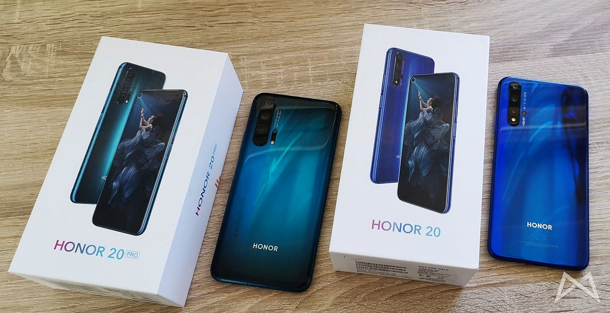 Honor 20 Und Honor 20 Pro Header