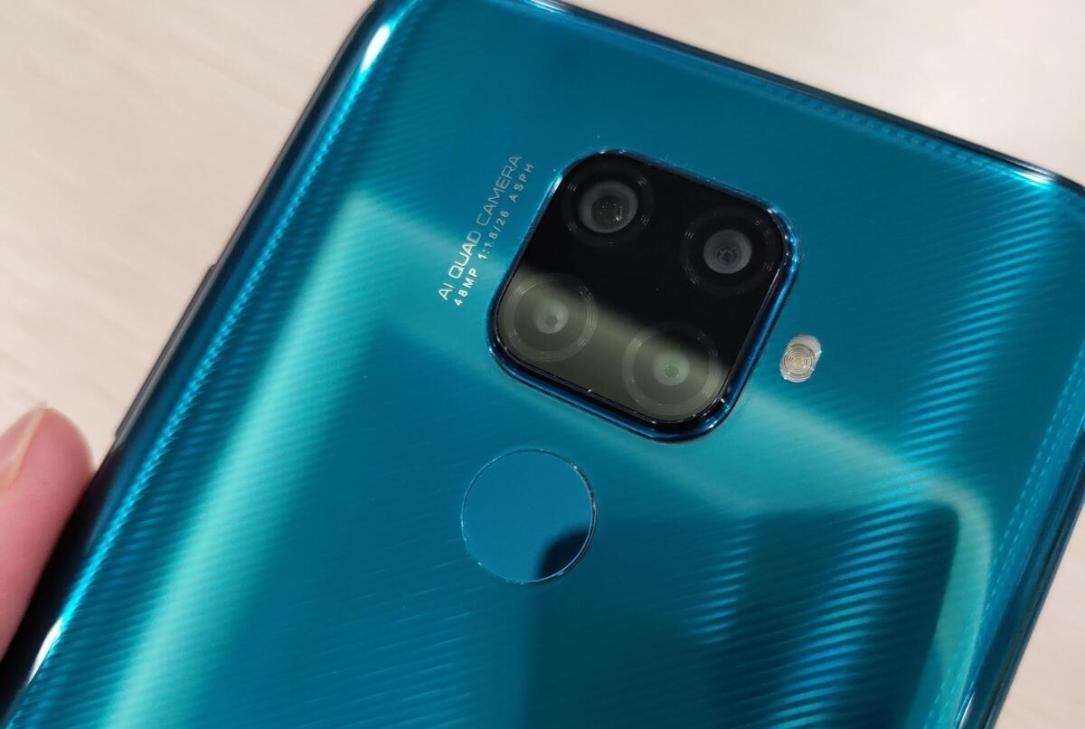 Huawei Mate 30 Lite Live Leak