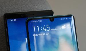 Huawei P30 Pro Sony Xperia 1 Test3