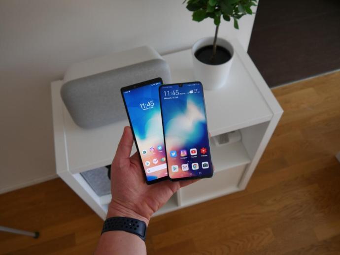 Huawei P30 Pro Sony Xperia 1 Test4
