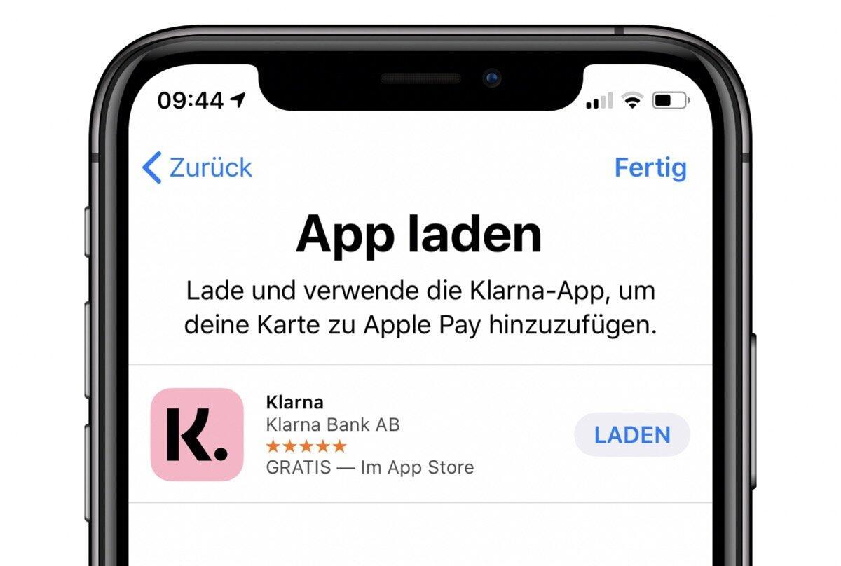 Klarna Apple Pay
