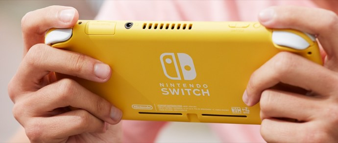 Nintendo Switch Lite Back