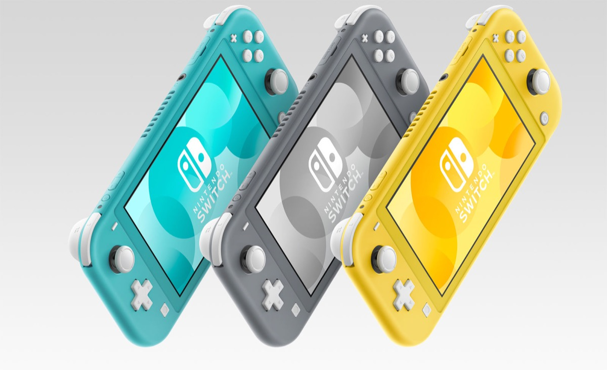 Nintendo Switch Lite Farben Header