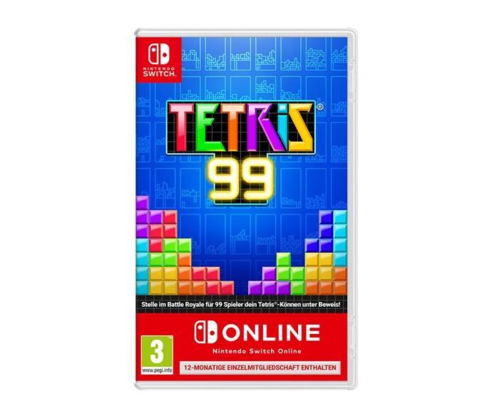 Nintendo Switch Tetris 99 Box