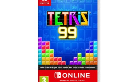Nintendo Switch Tetris 99 Box