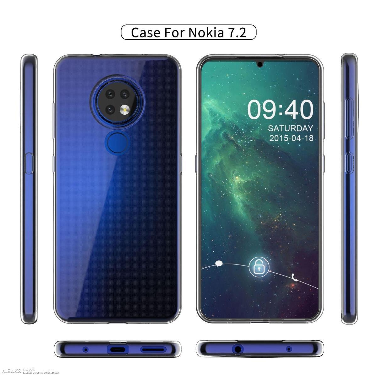 Nokia 7.2 Case Leak Alle Seiten