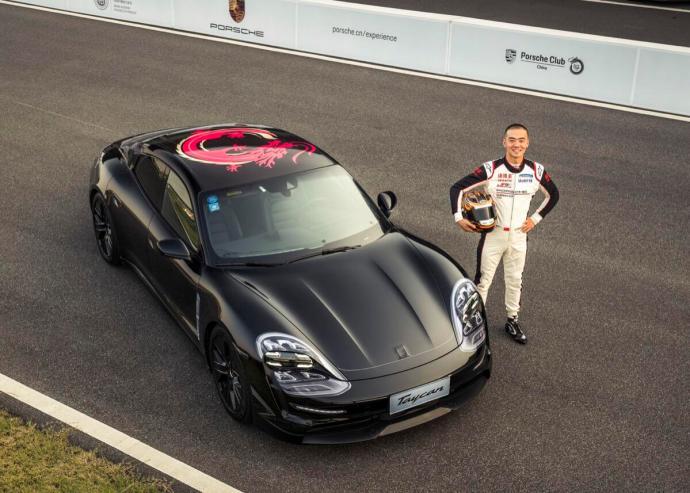 Porsche Taycan Shanghai