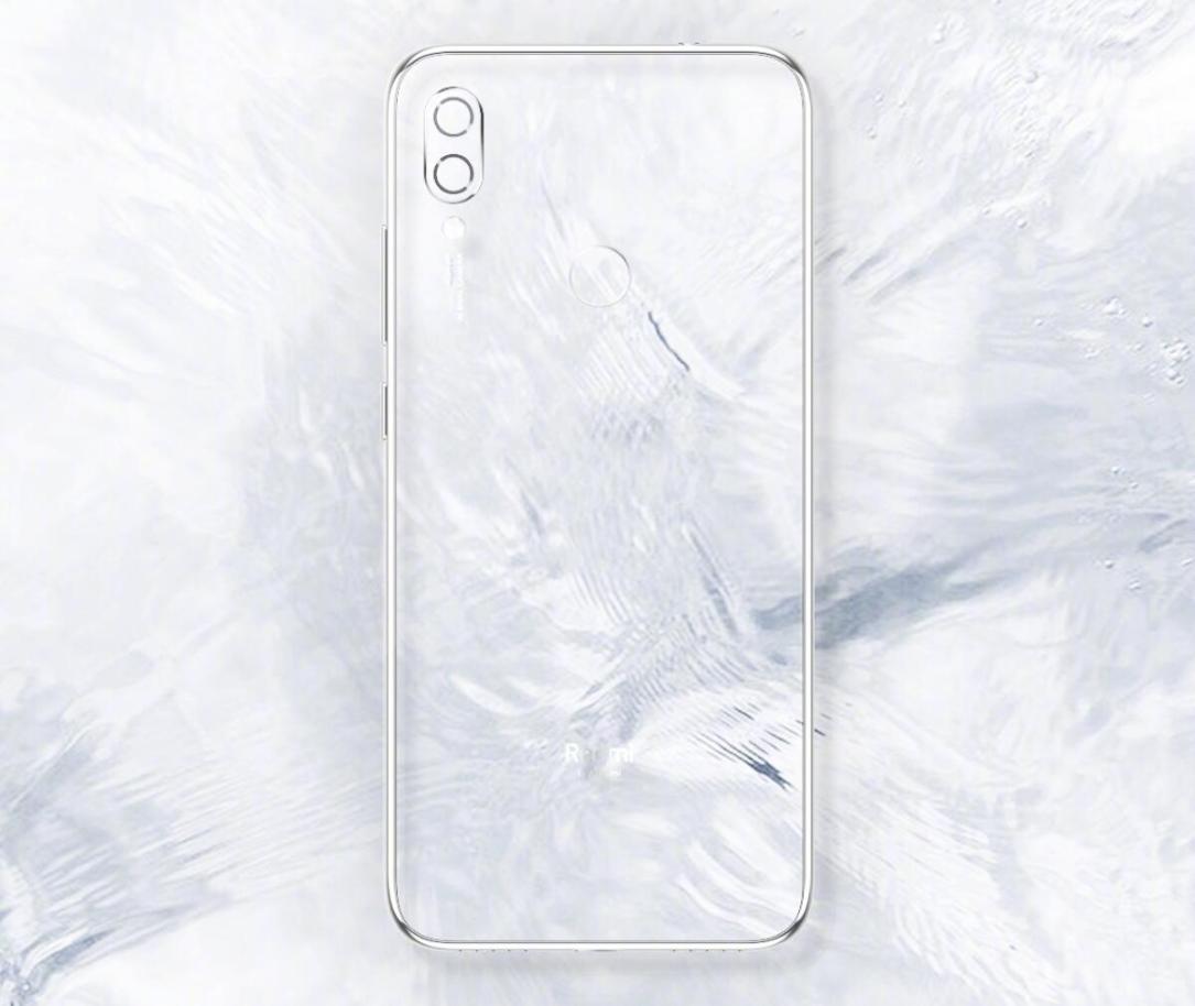 Redmi Note 7 Weiss Teaser