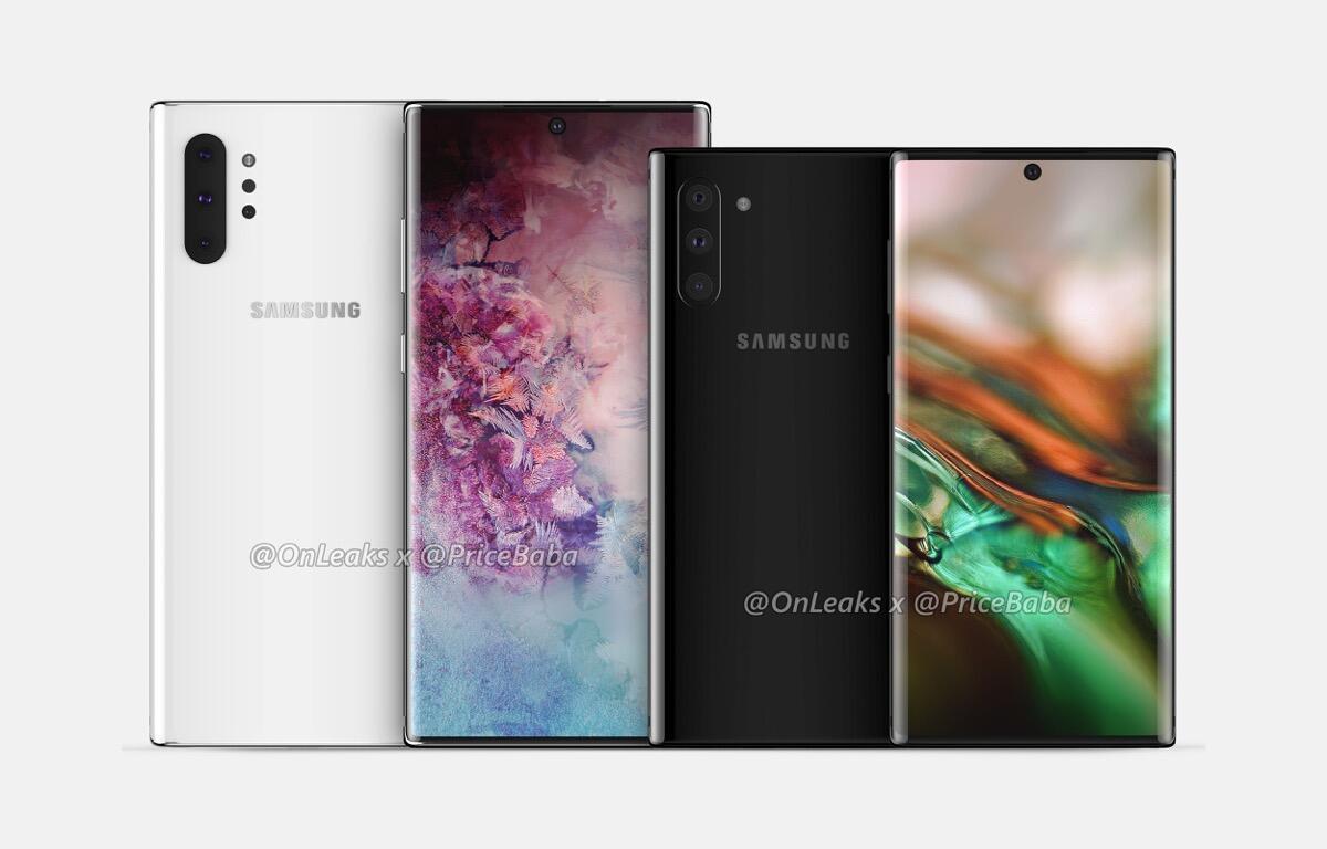 Samsung Galaxy Note 10 Lineup Header