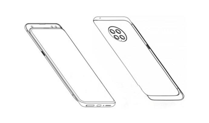Xiaomi Mi Mix 4 Leak Skizze