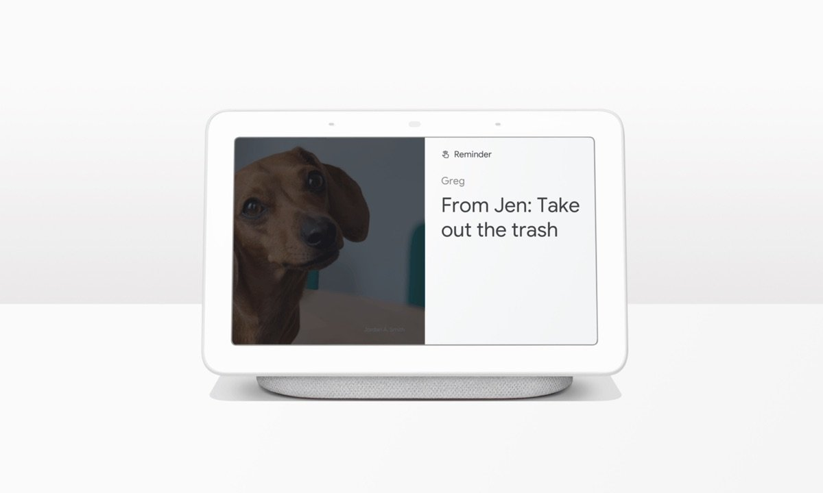 Google Assistant Erinnerungen Display