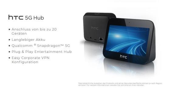Der HTC 5G Hub (Bild: HTC).