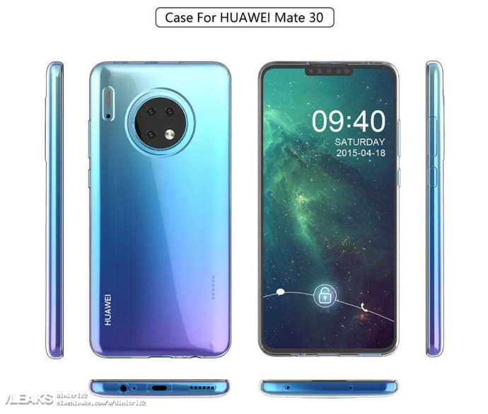 Huawei Mate 30 Case Alle Seiten