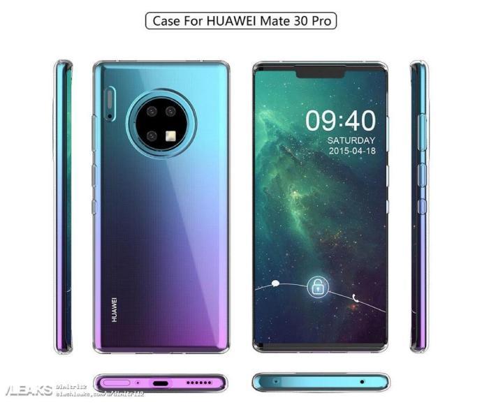 Huawei Mate 30 Prp Case Alle Seiten