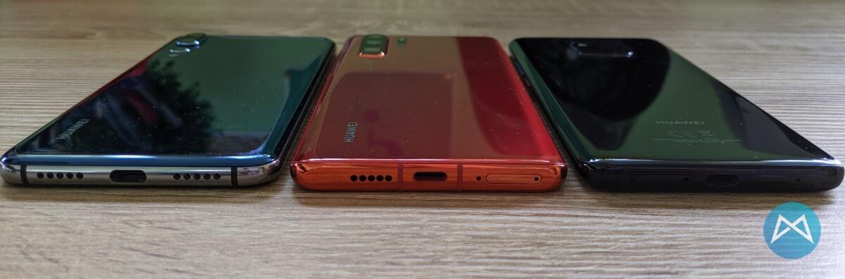 Huawei P20 Pro Huawei Mate 20 Pro Huawei P30 Pro Unten