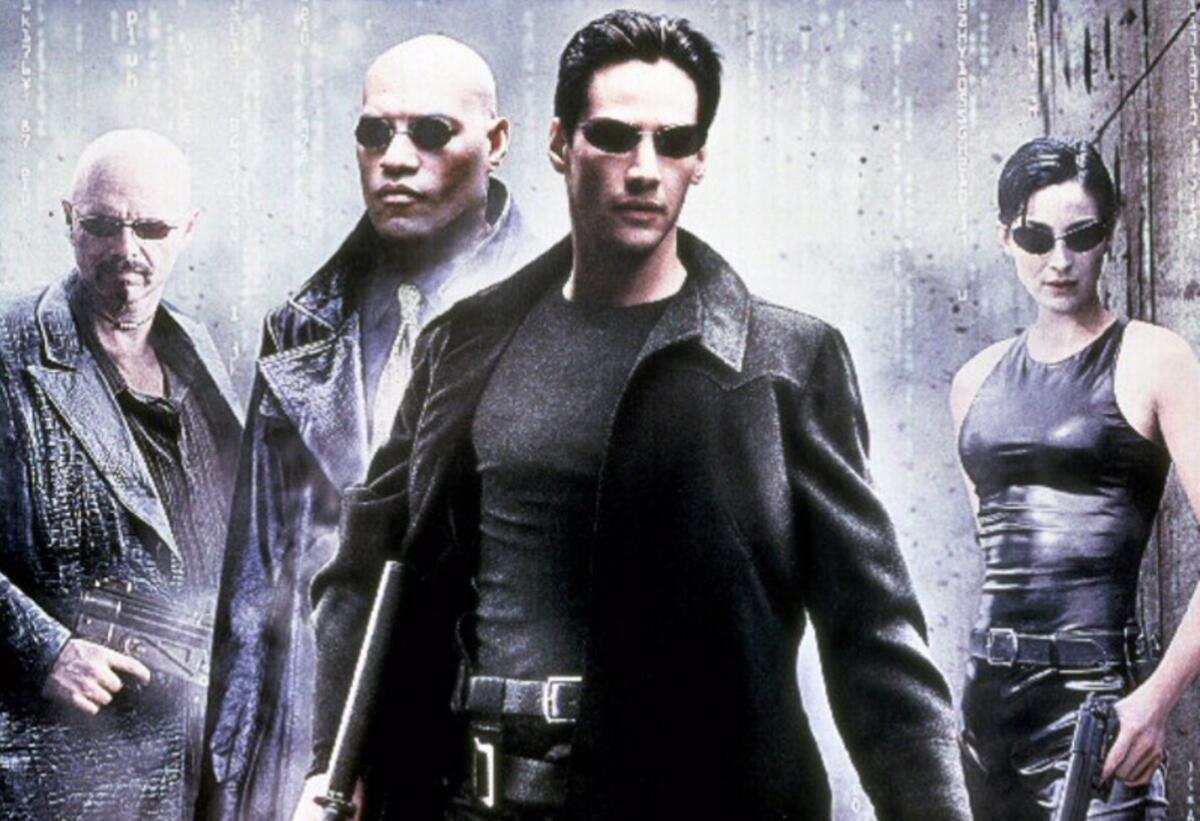 Matrix Film Header