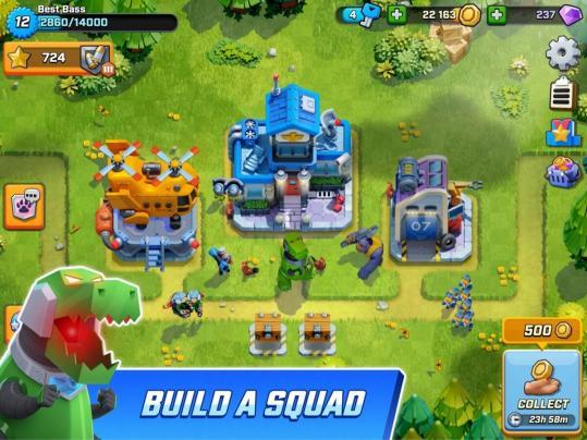 Rush Wars Screen3