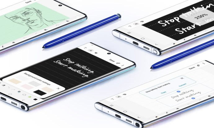 Samsung Galaxy Note 10 Pen Header