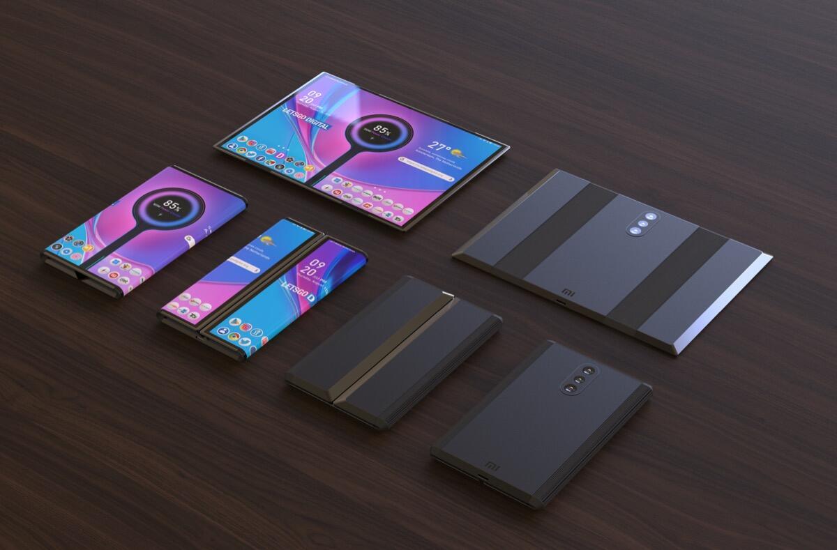 Xiaomi Patent Faltbar