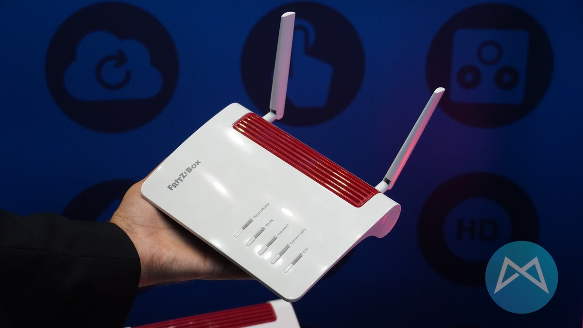 AVM FRITZBox 6850 5G.