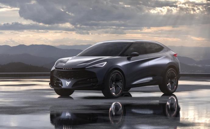 Cupra Tavascan Electric Concept 01 Hq