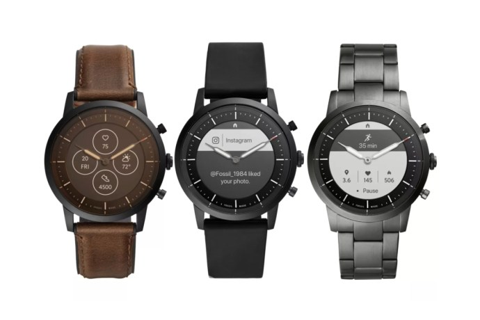 Fossil Hybrid Watch Leak