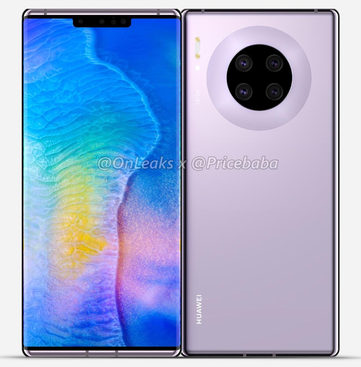 Huawei Mate 30 Pro Render1