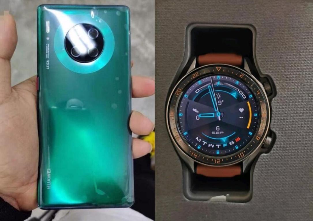 Huawei Mate 30 Pro Watch Gt 2 Leak