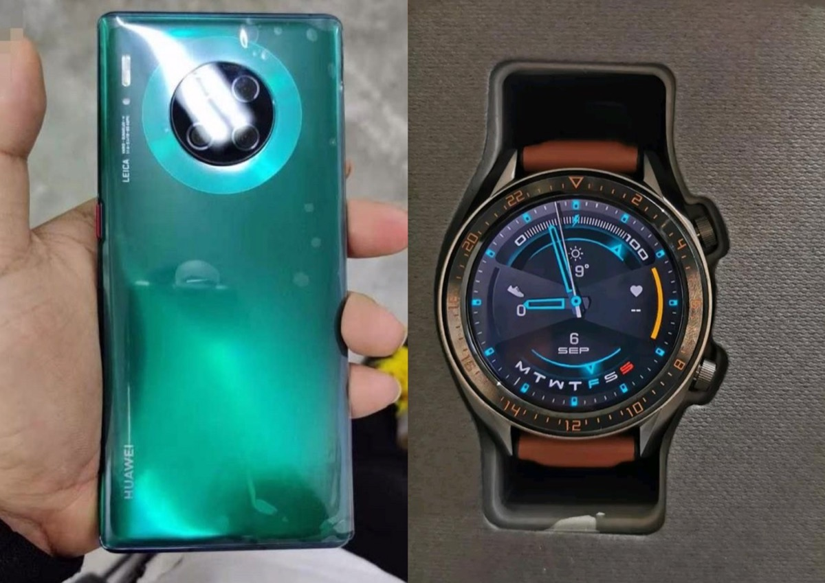 Huawei Mate 30 Pro Watch Gt 2 Leak