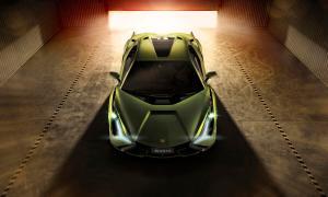 Lamborghini Sian Header