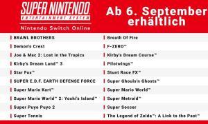 Nintendo Switch Snes Spiele