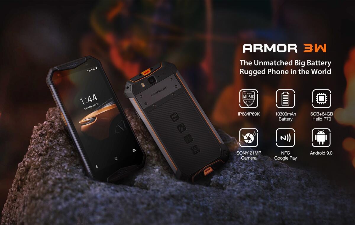 Uiefone Armor 3w