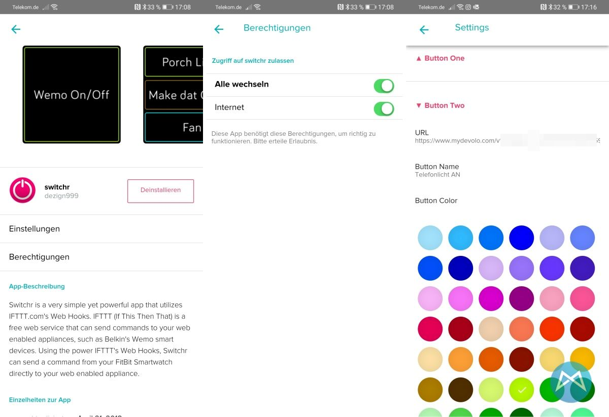 Fitbit Versa 2 Smart Home Steuerung Mit Switchr
