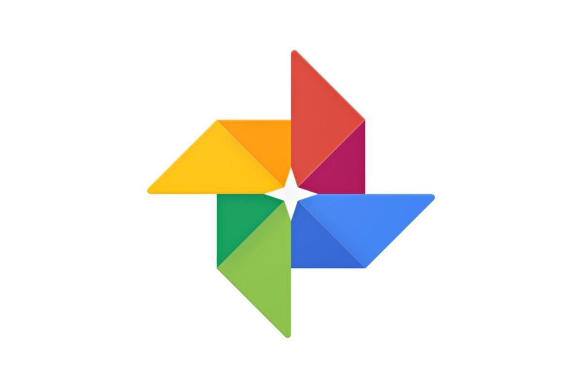 Google Fotos Logo Header