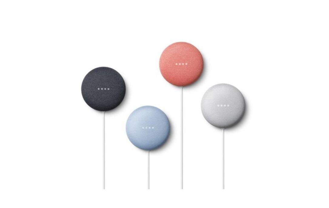 Google Nest Mini Farben